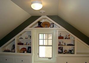 美式斜顶阁楼设计