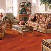 美式混搭风格深色地板设计