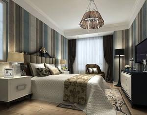 舒适大户型欧式卧室壁纸装修效果图实例鉴赏