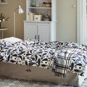 欧式简约风格卧室床饰效果图