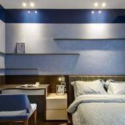 新房清新风格卧室效果图