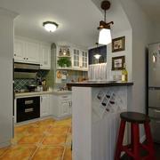 婚房欧式简约风格厨房吧台装饰