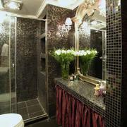 东南亚风格卫浴镜饰装饰