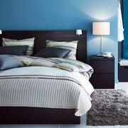 后现代风格卧室地毯装修