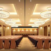 欧式奢华会议室效果图