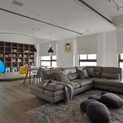 老房客厅地板装饰