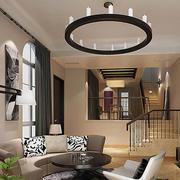 美式简约风格样板房吊顶设计