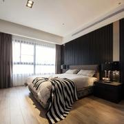 复式楼卧室飘窗装饰