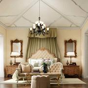 美式别墅奢华卧室装饰