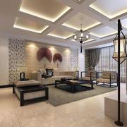 中式客厅创意灯饰设计