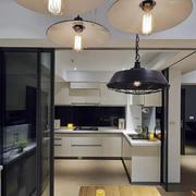 复式楼简约风格厨房效果图