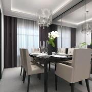 后现代风格新房餐厅效果图
