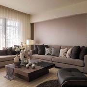 三室一厅客厅沙发设计