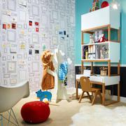 现代简约风格手绘墙装饰