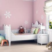 欧式印花儿童房背景墙设计