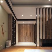 日式新房榻榻米背景墙设计