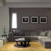 三室两厅客厅沙发背景墙