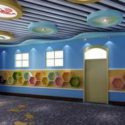 幼儿园教室走廊吊顶装饰