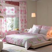 粉色婚房卧室灯饰设计