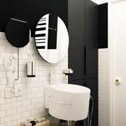 后现代风格卫生间背景墙装饰