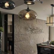 三室一厅餐厅背景墙设计