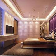 欧式亮色卧室壁纸设计
