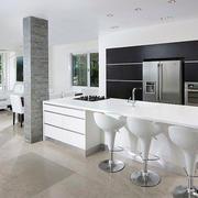 北欧风格简约厨房设计