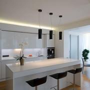 现代简约风格厨房吊顶装饰