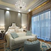 欧式风格别墅奢华卧室装修
