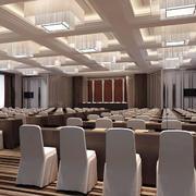 大型美式风格会议室吊顶