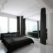 loft风格卧室效果图
