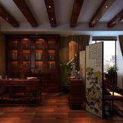 东南亚风格书房吊顶设计