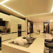 后现代风格厨房吧台