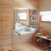 日式原木儿童房装修