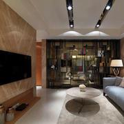一室一厅电视背景墙装饰