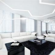 后现代风格别墅客厅装饰