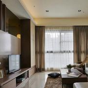 后现代风格公寓客厅效果图