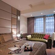 两室一厅欧式卧室效果图