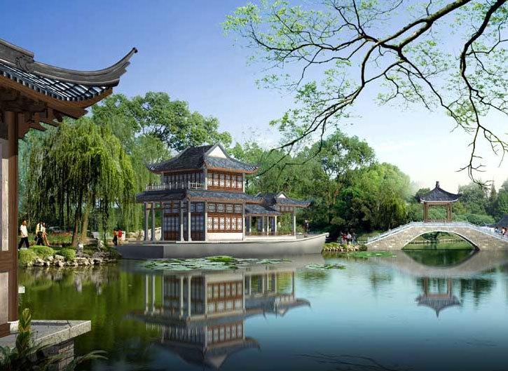艺术性极高、富有价值的苏州园林设计效果图欣赏大全