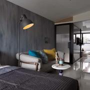 跃层后现代风格卧室装饰