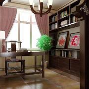 中式风格书房灯饰设计