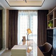 三室两厅书房飘窗设计