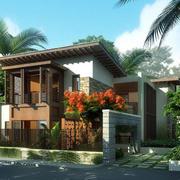 清新型乡村别墅设计