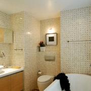 三室一厅卫生间瓷砖设计