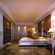 卧室欧式简约壁纸设计