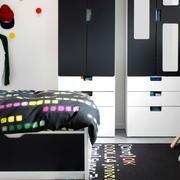 后现代风格儿童房衣柜装饰