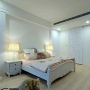 欧式田园风格新房卧室效果图
