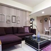大户型老房客厅沙发装饰