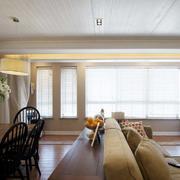 三室两厅美式石膏板吊顶