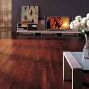 美式原木地板装饰